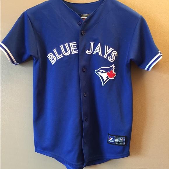 timeless design 77fb2 8fb0c Official Toronto Blue Jays Jersey - Casey Janssen